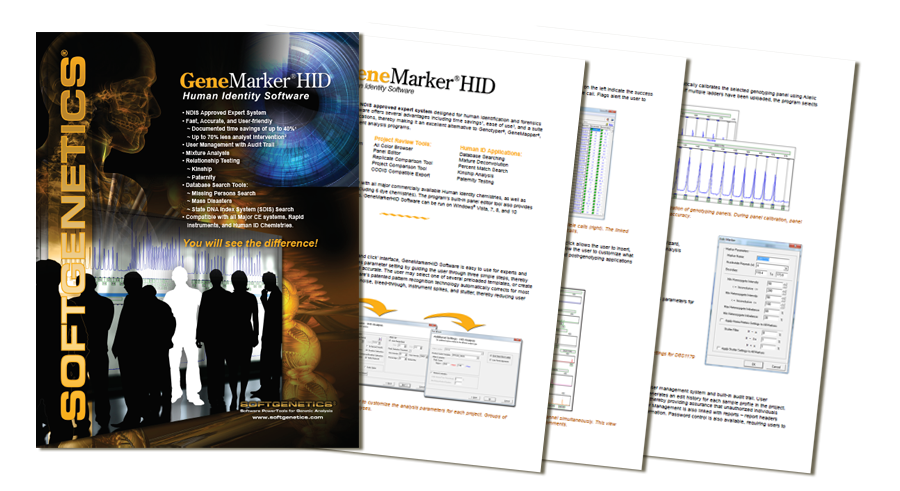 SoftGenetics GeneMarker HID brochure download