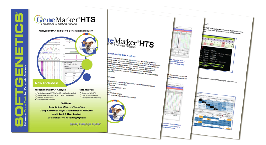SoftGenetics GeneMarker HTS brochure download